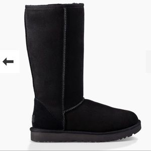 Authentic Tall Black Uggs